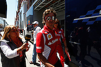 24.06.2012. Valencia, Spain. FIA Formula One World Championship 2012 Grand Prix of Europe Race.  The picture show  Fernando Alonso (Spanish driver of Ferrari)