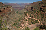 Three mile rest area and the Bright Angel Trail above Indian Gardens, Grand Canyon National Park, Arizona . John offers private photo tours in Grand Canyon National Park and throughout Arizona, Utah and Colorado. Year-round.