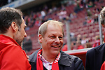 12.05.2019, RheinEnergieStadion, Koeln, GER, 2. FBL, 1.FC Koeln vs. SSV Jahn Regensburg,<br />  <br /> DFL regulations prohibit any use of photographs as image sequences and/or quasi-video<br /> <br /> im Bild / picture shows: <br /> Markus Ritterbach Pr&auml;sident / Praesident (1.FC Koeln), <br /> <br /> Foto &copy; nordphoto / Meuter
