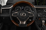 Car pictures of steering wheel view of a 2017 Lexus RX 350 L 5 Door SUV