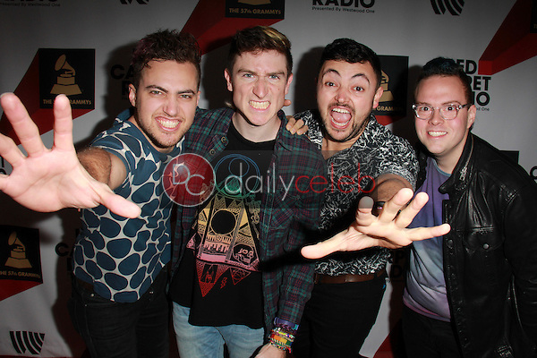 Walk the Moon<br /> Red Carpet Radio presents Grammys Radio Row Day 1 at the Staples Center in Los Angeles, CA<br /> David Edwards/DailyCeleb.com 818-249-4998