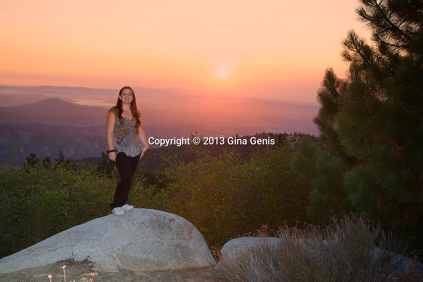 Lorayne Teel-Kellner at Inspiration Point