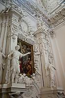 Peter & Paul Church originally built in 15th century, baroque style.