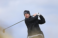 Gary McDermott (Carton House) during the first round of matchplay at the 2018 West of Ireland, in Co Sligo Golf Club, Rosses Point, Sligo, Co Sligo, Ireland. 01/04/2018.<br /> Picture: Golffile | Fran Caffrey<br /> <br /> <br /> All photo usage must carry mandatory copyright credit (&copy; Golffile | Fran Caffrey)