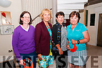 Captain's Charity Day:  Winners at the Ballybunion Golf Club Lady Captain's charity day being presented with their prizes at a function in Ballybunion GC by lady captain Josette O'Donnell on Saturday night last. L-R : Elaine Sheridan, Mitchelstown GC, Josette O'Donnell, Ballybunion GC ALdy Captain, Suzanne Gilmore, Ballybunion GC, & Rose Quilter, Lee Valley GC.
