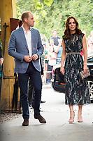 Prinz William und Catherine, Herzogin von Cambridge beim Besuch der britischen Royals im Tanzlokal und Restaurant Clärchens Ballhaus. Berlin, 20.07.2017
