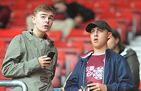 Burnley fans enjoy the pre-match atmosphere <br /> <br /> Photographer Kevin Barnes/CameraSport<br /> <br /> The Premier League - Southampton v Burnley - Sunday August 12th 2018 - St Mary's Stadium - Southampton<br /> <br /> World Copyright &copy; 2018 CameraSport. All rights reserved. 43 Linden Ave. Countesthorpe. Leicester. England. LE8 5PG - Tel: +44 (0) 116 277 4147 - admin@camerasport.com - www.camerasport.com