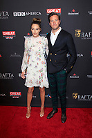 LOS ANGELES - JAN 6:  Elizabeth Chambers, Armie Hammer at the 2018 BAFTA Tea Party Arrivals at the Four Seasons Hotel Los Angeles on January 6, 2018 in Beverly Hills, CA