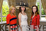 Models pictured at the Enable Ireland Ladies Luncheon in the Earl of Desmond Hotel, Tralee on Friday, from left: Dawn O'Sullivan, Kaelin Fox and Niamh Hennessy.