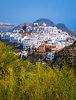 Spanien, Andalusien, Provinz Almería, Costa de Almería, Mojácar: weisses Dorf | Spain, Andalusia, Province Almería, Costa de Almería, Mojácar: pueblo blanco,