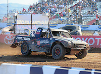 Apr 17, 2011; Surprise, AZ USA; LOORRS driver Austin Kimbrell (88) during round 4 at Speedworld Off Road Park. Mandatory Credit: Mark J. Rebilas-