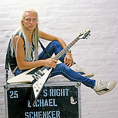 Jul 17, 1986: MICHAEL SCHENKER - Photosession in Hanover Germany