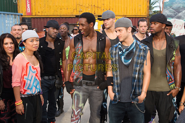 MARI KODA, STEPHEN ?tWitch' BOSS & MISHA GABRIEL.in Step Up 4: Miami Heat (2012) .(Step Up Revolution).*Filmstill - Editorial Use Only*.CAP/FB.Supplied by Capital Pictures.
