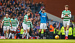 11.3.2018 Rangers v Celtic:<br /> Dejection from Sean Goss