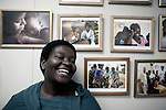 CAPE TOWN, SOUTH AFRICA: Nozi Samela, a Mentor Mother at mothers2mothers, has helped hundreds of pregnant women and mothers newly diagnosed with HIV by sharing her own story and giving them hope for the future when they thought there was none. Mothers2mothers (m2m),  an NGO that works to eliminate pediatric AIDS and keep HIV-positive mothers alive in sub-Saharan Africa. (Photo by Per-Anders Pettersson)