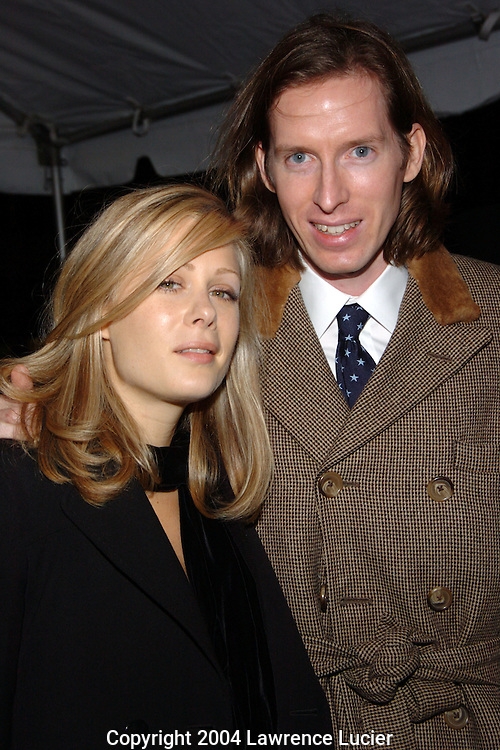 Tara Subkoff and Wes Anderson