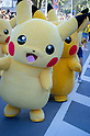 The Pikachu Parade on August 7, 2016 held during the weeklong Pikachu Breakout event in the Japanese port town of Yokohama, nearby Tokyo.<br /> <br /> Photo by DUITS/AFLO