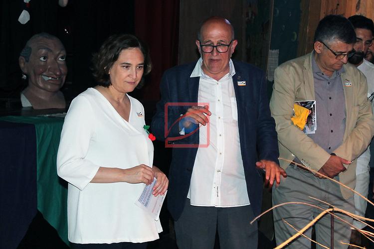 37a Festa de la Cirera.<br /> Inauguraci&oacute; de la Festa d'enguany per part de Ada Colau i Ferran Puig.