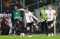 Mesut Oezil (Deutschland Germany)- 11.10.2016: Deutschland vs. Nordirland, HDI Arena Hannover, WM-Qualifikation Spiel 3