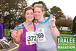 Niamh Shanahan 373, Aoife O' Connor 269, who took part in the Kerry's Eye Tralee International Marathon on Sunday 16th March 2014.