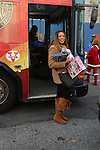 Wendy Williams Arrives Wit Toys To The POLICE ATHLETIC LEAGUE AND CITYSIGHTS NY TEAM UP FOR ANNUAL HOLIDAY PARTY AND TOY DRIVE At The Police Athletic League, Harlem NY  12/15/12
