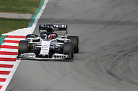 28th February 2020; Circuit De Barcelona Catalunya, Barcelona, Catalonia, Spain; Formula 1 Pre season Testing Week Two, Day 3; Scuderia AlphaTauri Honda, Daniil Kvyat