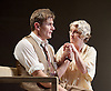 Waste <br /> by Harley Granville Barker<br /> at the Lyttelton Theatre, NT, Southbank, London, Great Britain <br /> 9th November 2015 <br /> <br /> Charles Edwards as Henry Trebell <br /> Sylvestra le Touzel as Frances Trebell <br /> <br /> Photograph by Elliott Franks <br /> Image licensed to Elliott Franks Photography Services