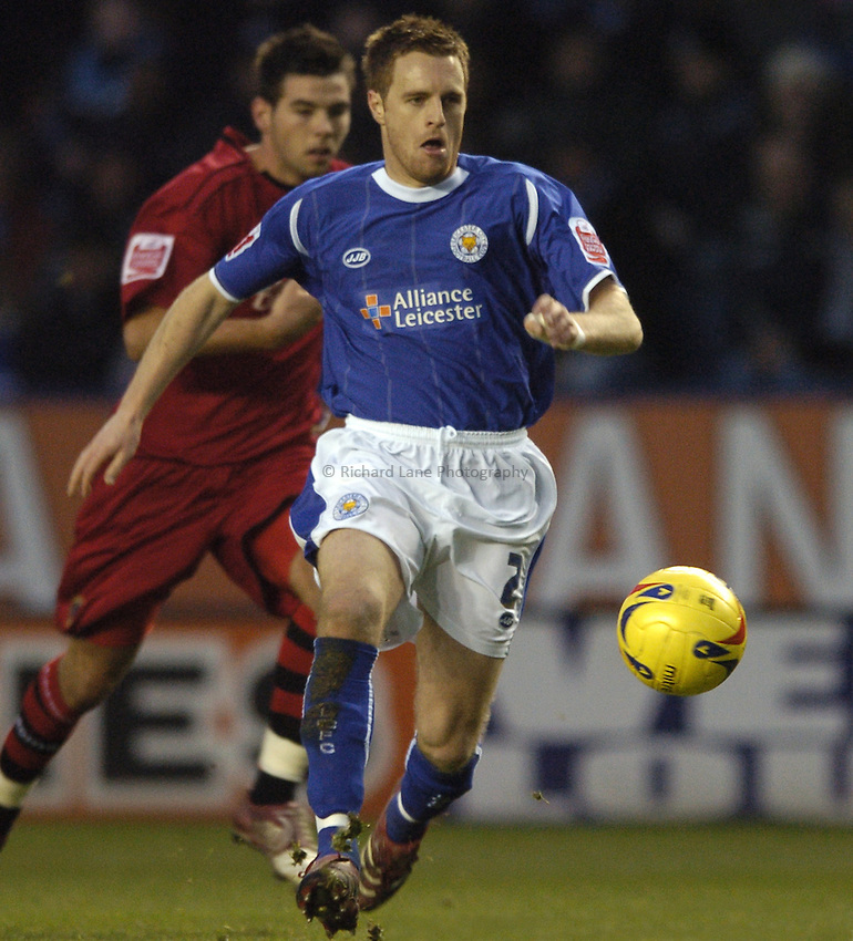 Photo: Jonathan Butler..Leicester City v Cardiff City. Coca Cola Championship. 23/12/2006..Alan Maybury of Leicester City.