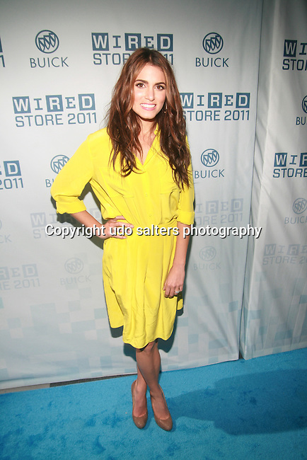 The Twilight Saga Actress Nikki Reed Attends THE 2011 WIRED STORE OPENING NIGHT LAUNCH PARTY Presented by Buick and Sponsored by Amstel Light - VIP Lounge sponsored by Gilt MAN, Times Square NY  11/17/11