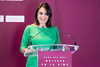 Monica Carrillo during the 25th edition of FEDEPE Awards at Jardines de Cecilio Rodriguez in Madrid, Spain. July 26, 2016. (ALTERPHOTOS/BorjaB.Hojas)