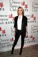Sylvie TELLIER - Chinese Business Club a l'occasion de la Journee Internationale de la Femme - 8 mars 2017 - Paris - France