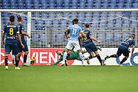Joaquin Correa of Lazio scores a goal<br /> Roma 10-11-2019 Stadio Olimpico <br /> Football Serie A 2019/2020 <br /> SS Lazio - Lecce<br /> Foto Antonietta Baldassarre / Insidefoto