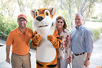 Occidental College alumni, students and their families celebrate at the Celebration of Oxy Athletics during Family Weekend & Homecoming, Oct. 22, 2016 in the Taylor Pool area.<br /> (Photo by Marc Campos, Occidental College Photographer)