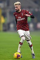 Samu Castillejo of AC Milan <br /> Milano 09/02/2020 Stadio San Siro <br /> Football Serie A 2019/2020 <br /> FC Internazionale - AC Milan <br /> Photo Andrea Staccioli / Insidefoto