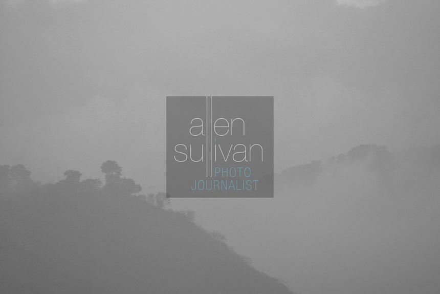 Hills surrounding Antigua, Guatemala.