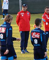 Maurizio Sarri <br /> Allenamento del Napoli nel centro sportivo di CastelVolturno