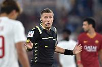 Referee Daniele Orsato <br /> Roma 27-10-2019 Stadio Olimpico <br /> Football Serie A 2019/2020 <br /> AS Roma - AC Milan<br /> Foto Andrea Staccioli / Insidefoto