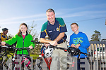 Joanna Moynihan, Con Moynihan, Andrew Moynihan enjoying the 8th Annual Castleisland Rugby Club Cycle in aid of the Castleisland Day Care Centre on Sunday