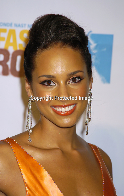 Alicia Keys..at the Conde Nast Media Group Fashion Rocks second annual live concert on September 8, 2005 at Radio City Music Hall. ..Photo by Robin Platzer, Twin Images