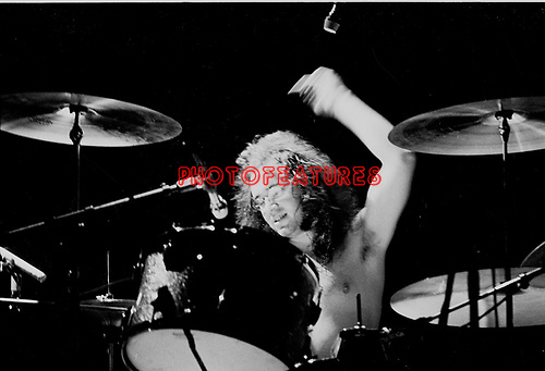 Deep Purple 1973 Ian Paice.© Chris Walter.