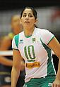 Fatima Oukazi (ALG), November 17 2011 - Volleyball : .FIVB Women's World Cup 2011, 4th Round .match between Algeria 0-3 Brazil .at Tokyo Metropolitan Gymnasium, Tokyo, Japan. .(Photo by Atsushi Tomura/AFLO SPORT) [1035]
