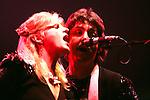 Wings 1975 Linda and Paul McCartney.© Chris Walter.