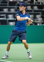 12-02-13, Tennis, Rotterdam, ABNAMROWTT,David Goffin