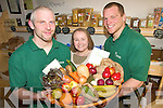 ORGANICS: Staff of the Manna Organic Store in Tralee who are seeing an increased interest in organic produce among the public, l-r: Thomas O'Connor, Claire O'Connor, Ryan Coote.