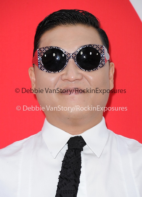 Psy  at The Summit Entertainment L.A. Premiere of RED 2 held at Westwood Village in Westwood, California on July 11,2013                                                                   Copyright 2013 Hollywood Press Agency