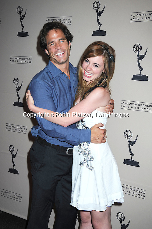 Shawn Christian and Molly Burnett attending the TV Academy's Daytime Programming Peer Group Cocktail Reception in honor of the 2010 Daytime Emmy Awards Nominees on .June 24, 2010 at SLS Hotel at Beverly Hills, California.
