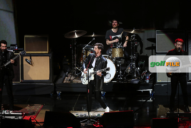 Twin Atlantic performing during the Gala Concert at Glasgow's SSE Hydro ahead of the 2014 Ryder Cup from Gleneagles, Perthshire, Scotland. Picture:  David Lloyd / www.golffile.ie
