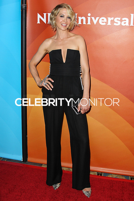 PASADENA, CA, USA - APRIL 08: Actress Jenna Elfman arrives at the NBCUniversal Summer Press Day 2014 held at The Langham Huntington Hotel and Spa on April 8, 2014 in Pasadena, California, United States. (Photo by Xavier Collin/Celebrity Monitor)