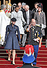 """PRINCE ALBERT AND PRINCESS CHARLENE .together with other members of the Monaco Royal Family attend mass at the Cathedrale, on the occasion of the National Day, Monte Carlo, Monaco_19/11/2012.Mandatory Credit Photos: ©NEWSPIX INTERNATIONAL..**ALL FEES PAYABLE TO: """"NEWSPIX INTERNATIONAL""""**..PHOTO CREDIT MANDATORY!!: NEWSPIX INTERNATIONAL(Failure to credit will incur a surcharge of 100% of reproduction fees)..IMMEDIATE CONFIRMATION OF USAGE REQUIRED:.Newspix International, 31 Chinnery Hill, Bishop's Stortford, ENGLAND CM23 3PS.Tel:+441279 324672  ; Fax: +441279656877.Mobile:  0777568 1153.e-mail: info@newspixinternational.co.uk"""