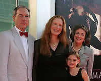 "©2004 KATHY HUTCHINS /HUTCHINS PHOTO.PREMIERE OF ""CATWOMAN"".HOLLYWOOD, CA.JULY 19, 2004..FRANCES CONROY.FAMILY.HUSBAND, SISTER"